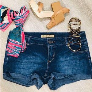 CELEBRITY PINK denim jean shorts Sz 13